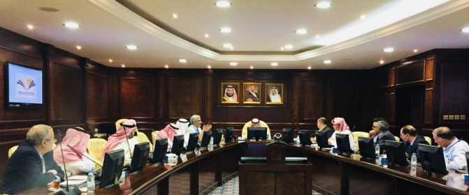 The Scientific Council of Prince Sattam bin Abdul Aziz University holds its seventh meeting for the academic year 1439-1440 AH