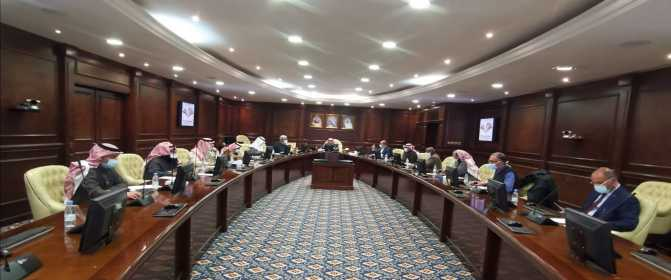 المجلس العلمي بجامعة الأمير سطام بن عبدالعزيز يعقد جلسته السادسة للعام الجامعي 1442هـ