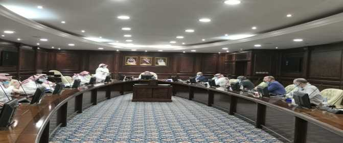 المجلس العلمي بجامعة الأمير سطام بن عبدالعزيز يعقد جلسته التاسعة للعام الجامعي 1442هـ